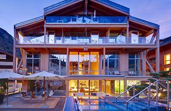 Design And Modern Hotels In Zermatt